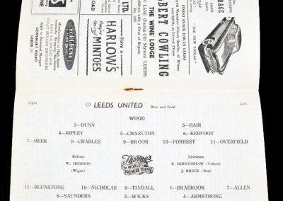 Chelsea v Leeds United 01.09.1956