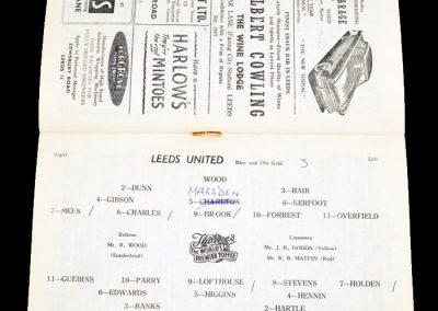 Bolton Wanderers v Leeds United 08.09.1956