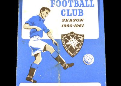 Oxford United v Leicester City 07.01.1961   FA Cup 3rd Round