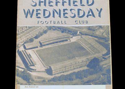 Sheffield Wednesday v Manchester United 26.12.1953