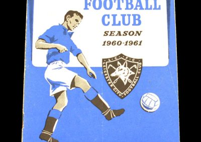 Bristol City v Leicester City 31.01.1961   FA Cup 4th Round   Postponed
