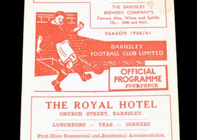 Barnsley v Leicester City 08.03.1961   FA Cup 6th Round Replay