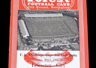 Leicester City v Sheffield United 23.03.1961   FA Cup Semi final Replay