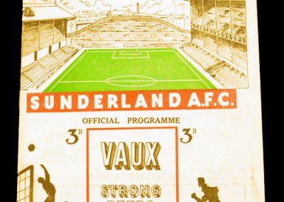 Sunderland v Manchester United 27.02.1954