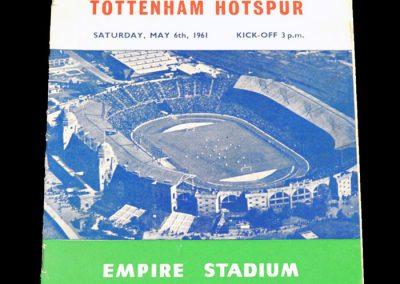 Tottenham Hotspur v Leicester City 06.05.1961   FA Cup Final