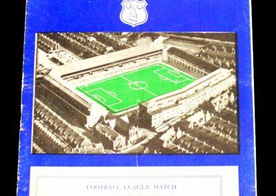 Everton v Leeds United 15.12.1956