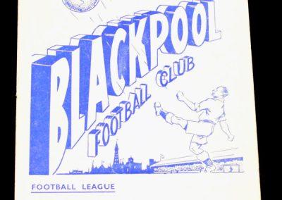 Blackpool v Leeds United 25.12.1956