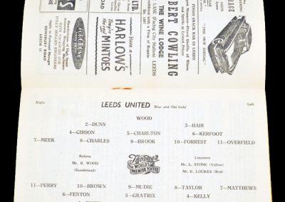 Blackpool v Leeds United 26.12.1956