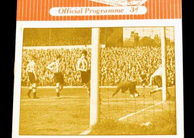 Sheffield United v Manchester United 24.04.1954