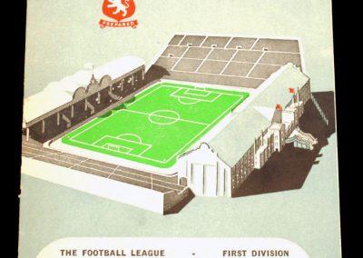 Aston Villa v Leeds United 02.02.1957