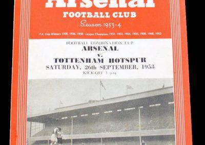 Arsenal v Tottenham Hotspur 26.0931953