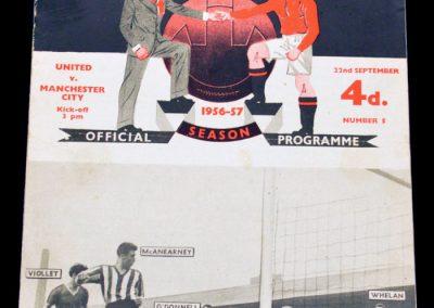 Manchester United v Manchester City 22.09.1956