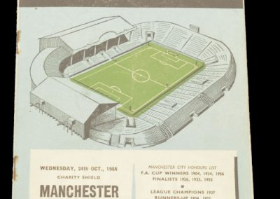 Manchester United v Manchester City 24.10.1956 | Charity Shield