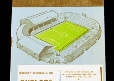 Chelsea v Manchester City 08.12.1956