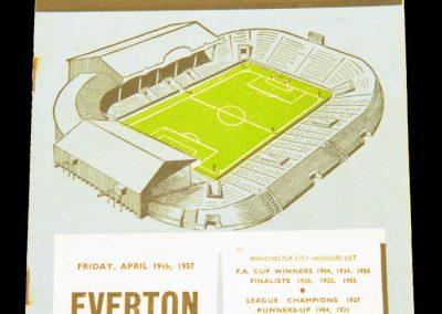 Everton v Manchester City 19.04.1957