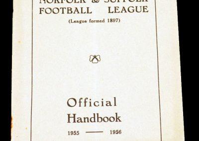 Norfolk & Suffolk Handbook 1955 - 1956