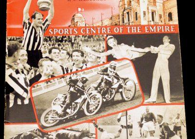 Wembley Souvenir 1956