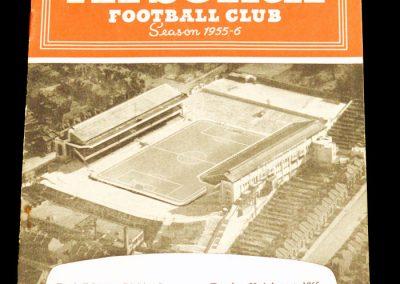 Arsenal v Cardiff City 23.08.1955