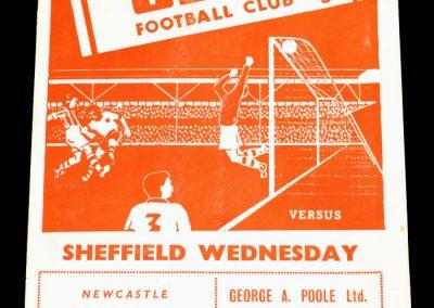Stoke City v Sheffield Wednesday 27.08.1955
