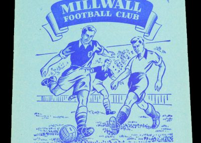 Millwall FC v Rotherham United 10.10.1955