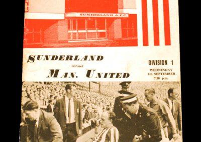 Sunderland v Manchester United 06.09.1967