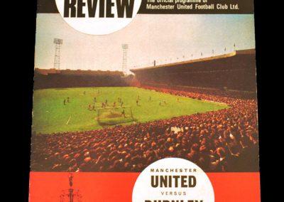 Burnley v Manchester United 09.09.1967