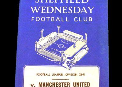 Sheffield Wednesday v Manchester United 16.09.1967