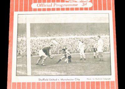Sheffield United v Blackpool 22.10.1955