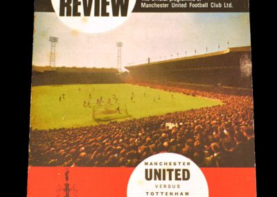 Tottenham Hotspur v Manchester United 23.09.1967