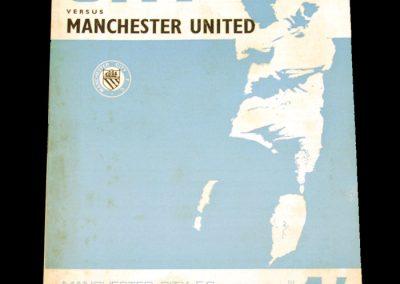 Manchester City v Manchester United 30.09.1967