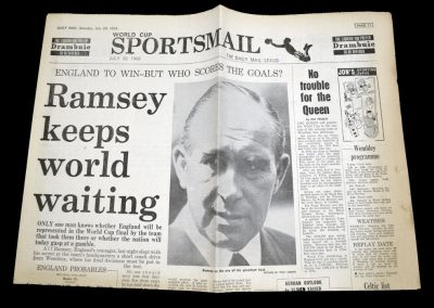 Ramsey keeps the world waiting - But doesn't pick him 30.07.1966