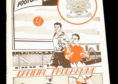 Fulham v Plymouth 19.11.1955