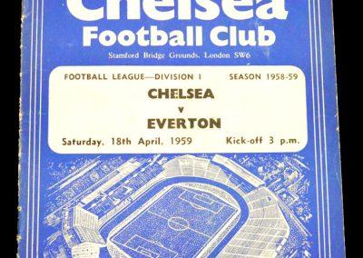 Everton v Chelsea 18.04.1959