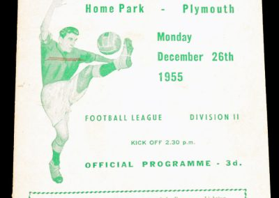 Plymouth Argyle v Bristol City 26.12.1955