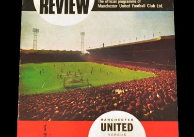 West Bromwich Albion v Manchester United 02.12.1967