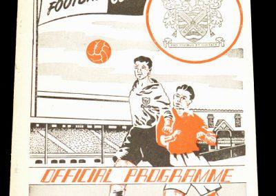 Fulham FC v Swansea Town 26.12.1955