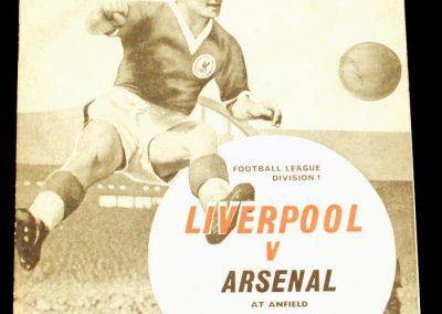 Liverpool v Arsenal 14.11.1962