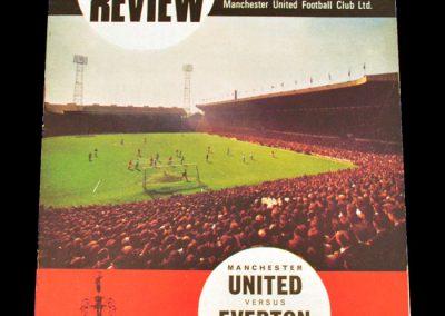 Everton v Manchester United 16.12.1967