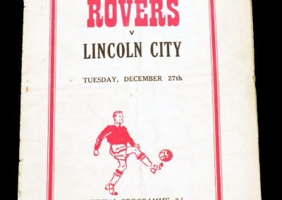 Doncaster Rovers v Lincoln City 27.12.1955