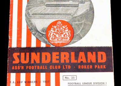Sunderland v Blackpool 31.12.1955