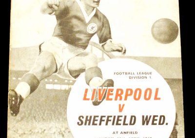 Liverpool v Sheffield Wednesday 29.04.1963