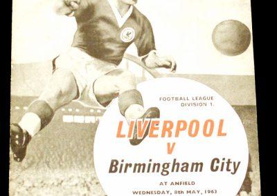 Liverpool v Birmingham City 08.05.1963