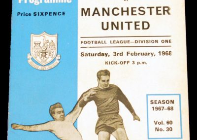 Tottenham Hotspur v Manchester United 03.02.1968