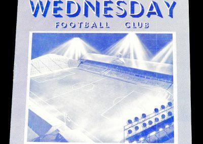 Sheffield Wednesday FC v San Lorenzo 26.01.1956