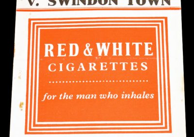 Charlton Athletic v Swindon Town 28.01.1956