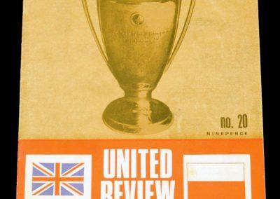 Gornik Zabrze (Poland) v Manchester United 28.02.1968 | Euro Champion Cup Quarter Final 1st