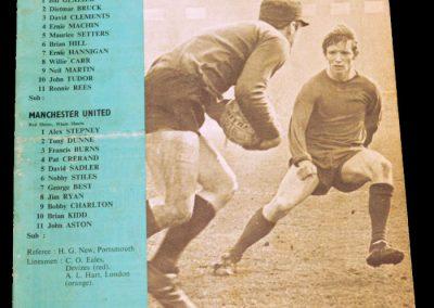 Coventry City v Manchester United 16.03.1968