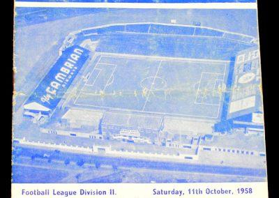 Ipswich Town v Cardiff City 11.10.1958