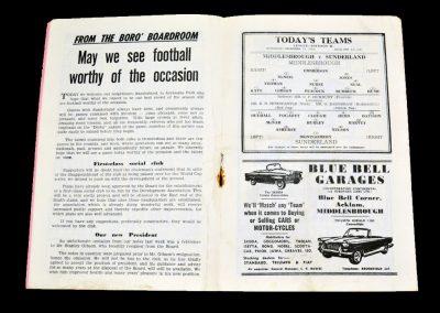 Middlesbrough v Sunderland 15.12.1962
