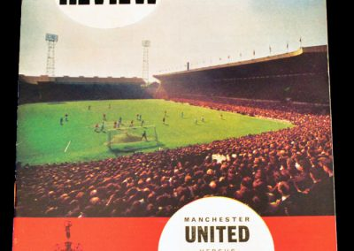 Fulham FC v Manchester United 15.04.1968